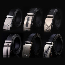 2020 Famous Brand Belt Men Top Quality Genuine Luxury Leather Belts for Men Strap Male Metal Automatic Buckle men belts