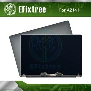 Novo espaço de prata cinza a2141 assembléia lcd para macbook pro retina 16