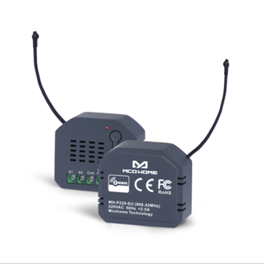 Smart Home Automation Sensor Z Wave Plus EU 868.4MHZ Micro Dual Relay Module Compatiable With Smartthings Homey Vera Fibaro