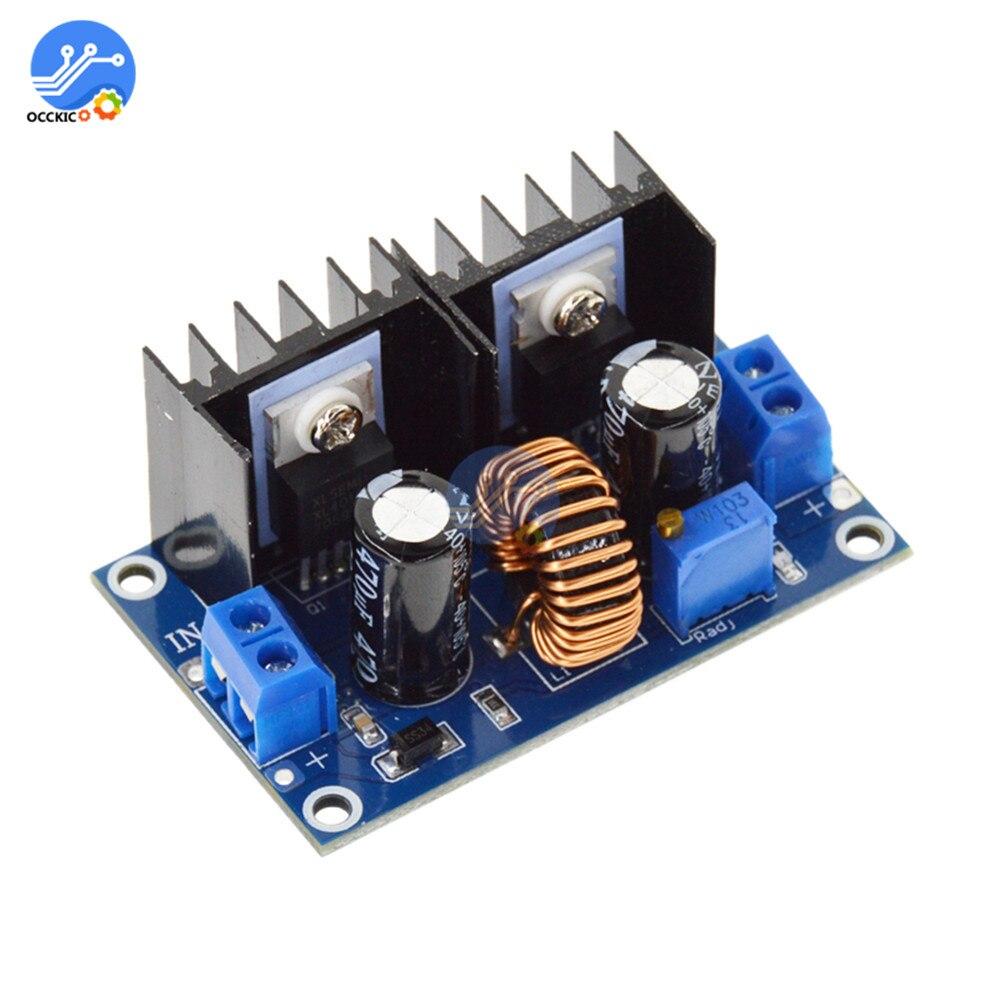 Модуль зарядного устройства XL4016 200 Вт, 8A, PWM, 4-38 в, 1,25-36 в, 180 кГц, 200 Вт, 8A, регулируемый регулятор, зарядная плата