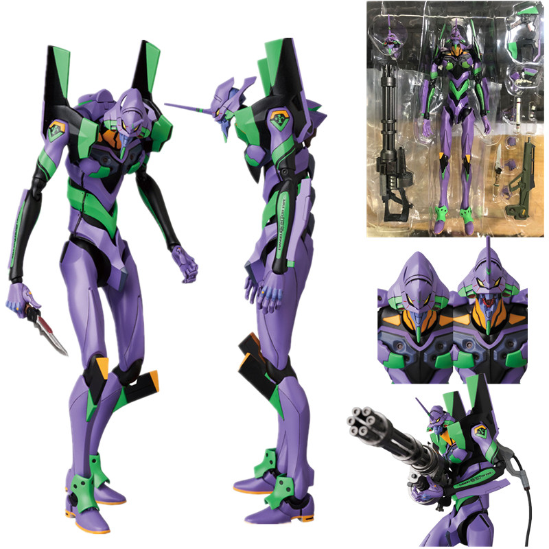 19cm New Mafex 080 <font><b>EVA</b></font> EVANGELION TEST TYPE <font><b>EVA</b></font>-<font><b>01</b></font> Action <font><b>Figures</b></font> PVC Movable collection of toy gifts image