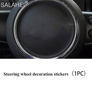 Image 2 - גביש יהלום רכב מולטימדיה ידית קישוט כיסוי Fit עבור מיני F55 F56 F60 קופר CLUBMAN COUNTRYMAN רכב אביזרי פנים