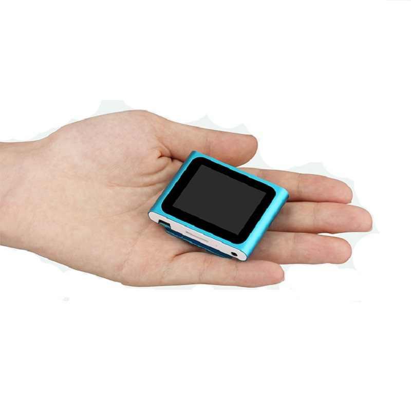2019 Новый MP3-player с экраном может воспроизводить видео Поддержка TF карты хранения клип на портативные часы фильмы слушать песни