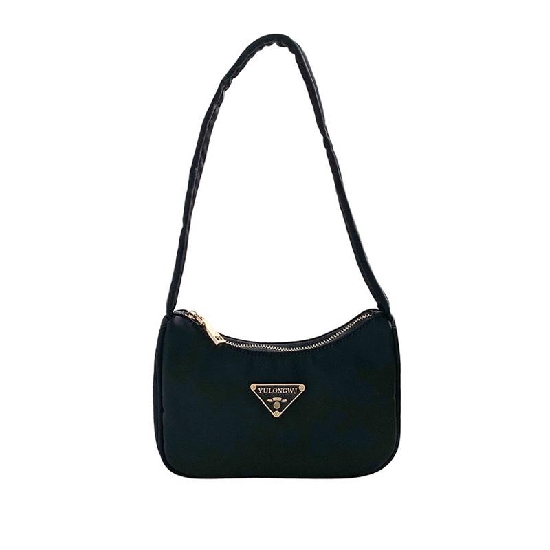 2020 Retro Women Baguette Bag Female