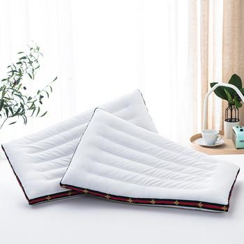Całkowicie bawełniana poduszka niskie miękkie poduszki wkładka domowa dla dorosłych i dzieci pojedyncza podwójna poduszka pod kark niska cienka poduszka jednoparowa tanie i dobre opinie CN (pochodzenie) Do pościeli Cotton Single other other ousja01 Summer 2019