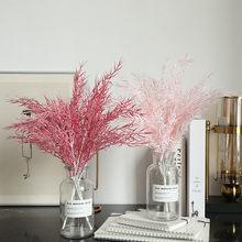 Flor de césped Artificial de bambú Mist para decoración del hogar, decoración para el ramo de bodas, para el hogar guirnalda, jardín, decoración de boda, 930