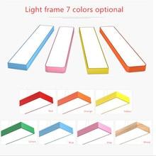 LED color office chandelier personality creative strip light aisle balcony cartoon children kindergarten lamps
