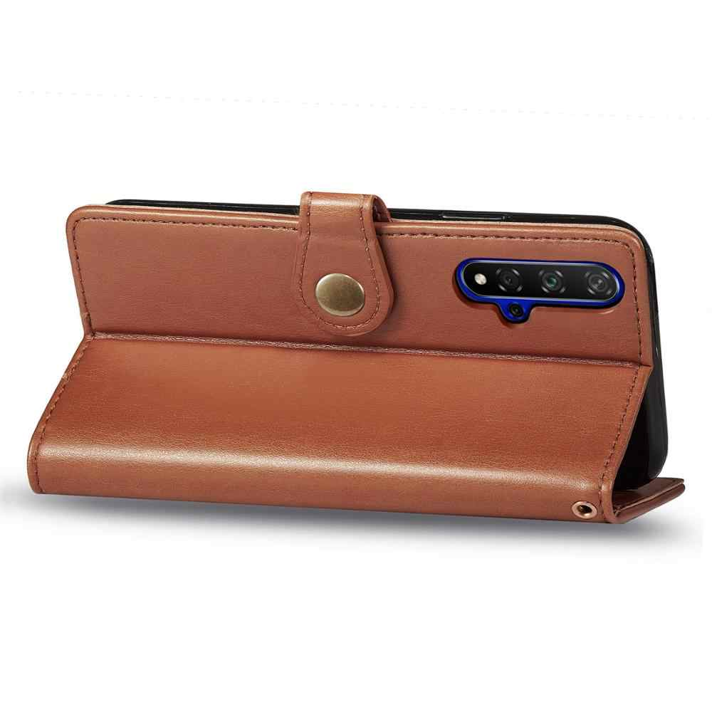 محفظة جلدية حافظة لهاتف huawei Y5 Y9 رئيس P الذكية Z 2019 التمتع 7S 8S الشرف 9X20 برو الوجه حافظة للبطاقات حالة