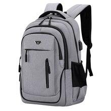 15,6 дюймов/17,3 дюймов Сумка для ноутбука рюкзак для Для мужчин Для женщин Для мужчин компьютера школьная Бизнес сумки с USB для зарядки наушник...
