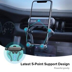 Image 4 - GETIHU 중력 자동차 전화 홀더 공기 환기 클립 마운트 아이폰 11 프로 X XR xiaomi에 대한 자동차 스탠드에 자기 휴대 전화 지원 없음