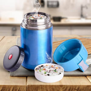 Vacuum Flasks Food-Soup-Containers Lunch Double-Stainless-Steel Large-Capacity Portable