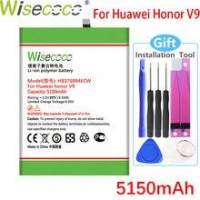 Wisecoco 5150mAh HB376994ECW Batterie Pour Huawei Honor V9 Honneur V9 Honor 8 Pro DUK-TL30 DUK-AL20 Téléphone Batterie
