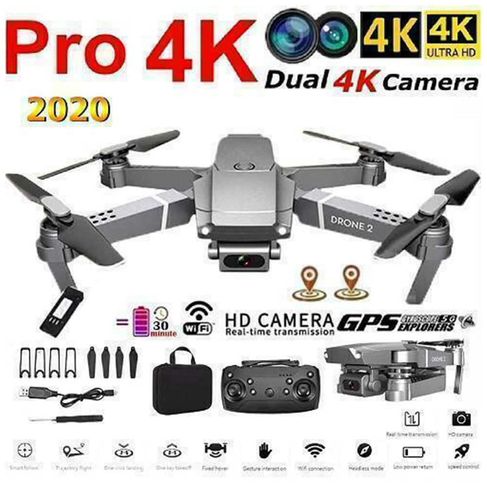 Willkey E68 Drone HD wide angle 4K WIFI 1080P FPV Drones video live Recording Quadcopter Height To maintain Drone Camera Toys
