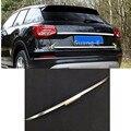 Покрытие для стайлинга кузова автомобиля из нержавеющей стали  задняя дверь  Нижняя рама багажника  пластина  отделка лампы  часть 1 шт. для ...