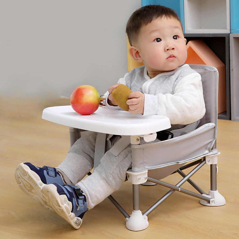 Rosa YYWJ Asiento elevador de viaje para comedor asiento elevador para ni/ños silla de beb/é plegable No nulo trona desmontable Tama/ño libre