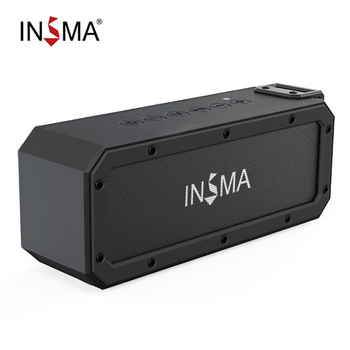 INSMA S400 PLUS 40W bluetooth Speaker NFC Portable Speakers IPX7 Waterproof Subwoofer Outdoor TWS Boombox Wireless Loudspeakers 1