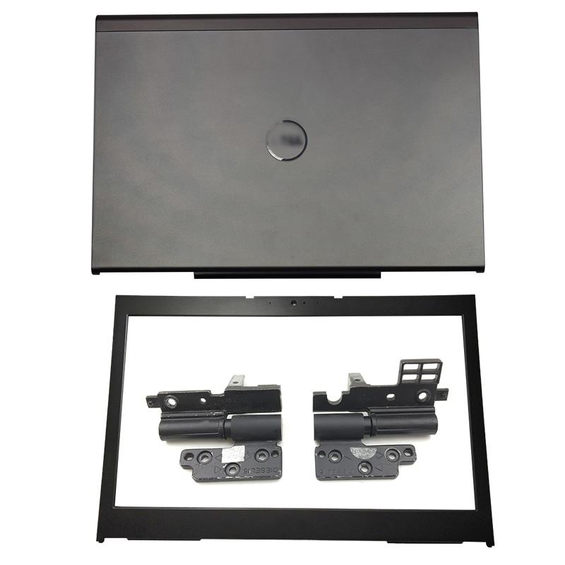 NEW For Dell Precision M4800 Laptop LCD Back Cover/Front bezel/Hinges/Palmrest/Bottom Case 0Y32M 0FT2YX 07M7FM 0TVPD6