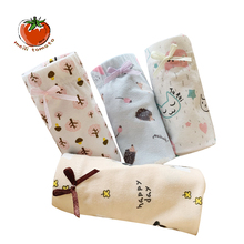 3pcs/lot New  Cute Cat Hedgehog Patterns Flat Corner Cotton Pants High Quality Childrens Shorts Girls Underwear panties