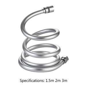 Head Shower Hose Flexible High-Pressure Bath-Parts-Accessories Handheld PVC Smooth