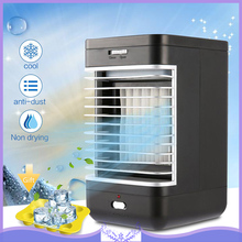 EU Plug Air Conditioning Table Air Cooler Portable Humidifier Purifier Fan Cooling Flow Filter Anti-dust Fresh Air Fan