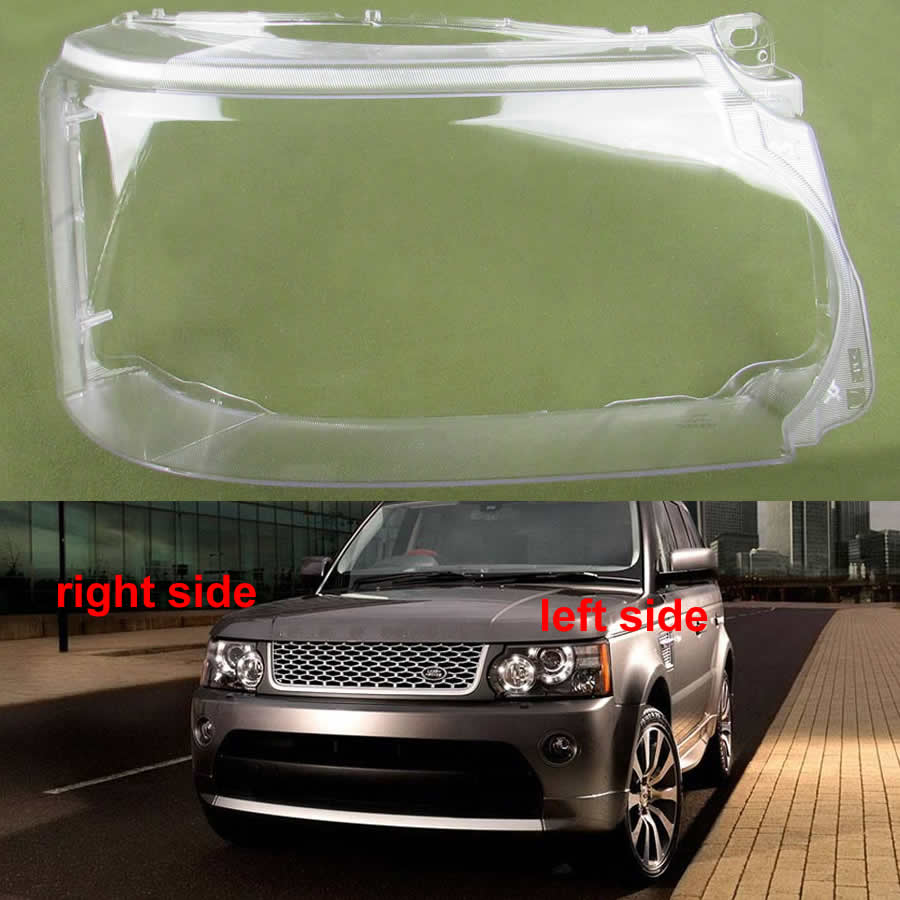 For Land Rover Range Rover Sport Edition 2010 2011 2012 2013 Headlight Transparent Cover Lampshade Cover Headlamp Shell