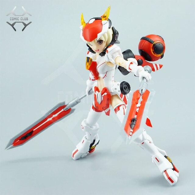 קומיקס מועדון במלאי מסגרת זרועות ילדה XIAOQIAO הרכבה צעצועי פעולה רובוט צעצועי איור
