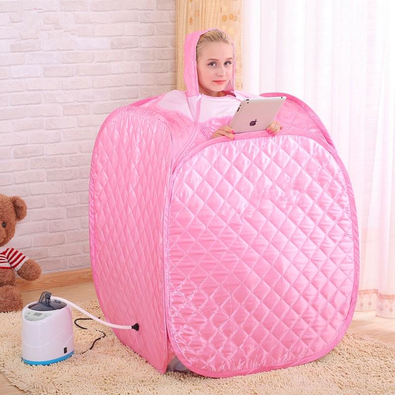 STEAM SAUNA BATH SAUNA Cabin With 4L 2KW Portable Sauna Lose Weight Therapy  Detox Machine Steam Turbine For Wet Sauna Room|Sauna Rooms| - AliExpress