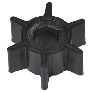 Water Pump Impeller Black Rubber For Tohatsu/Mercury/Sierra 2/2.5/3.5/4/5/6HP Outboard Motor 6 Blades Boat Parts & Accessories(China)