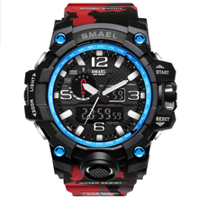 Mens Watch Camouflage Waterproof LED Digital Clock Fashion Casual Sports Quartz Electronic Male Relogios Masculion