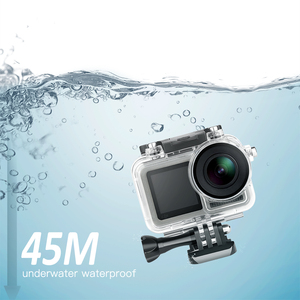 Image 5 - تبادل لاطلاق النار تحت الماء مقاوم للماء ل DJI oomo عمل كاميرا الغوص الغلاف الواقي قذيفة ل DJI oomo الرياضة ملحقات الكاميرا
