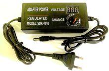 1 個調節可能な 3 V 24 V アダプタ表示画面の電圧 3V 4.5V 5V 6V 9V 10V 12 13.5V 15V 18V 19 V 24 V 2A 48 ワット電源