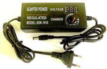 1PCS adjustable 3V 24V adapter with display screen of voltage 3V 4.5V 5V 6V 9V 10V 12 13.5V 15V 18V 19V  24V 2A 48W power supply