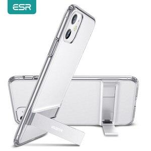 Image 1 - ESR עבור iPhone 11Pro מקסימום מקרה עבור iPhone 12 מיני 12 פרו מקס SE 2020 8 7 בתוספת X XR XS מקס Stand מקרה כיסוי אחורי עבור iPhone 11 פרו