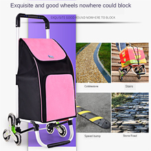 Hand-Truck Trolley Cart Stair-Climber Folding Heavy-Duty Dolly Adjustable-Handle Grocery