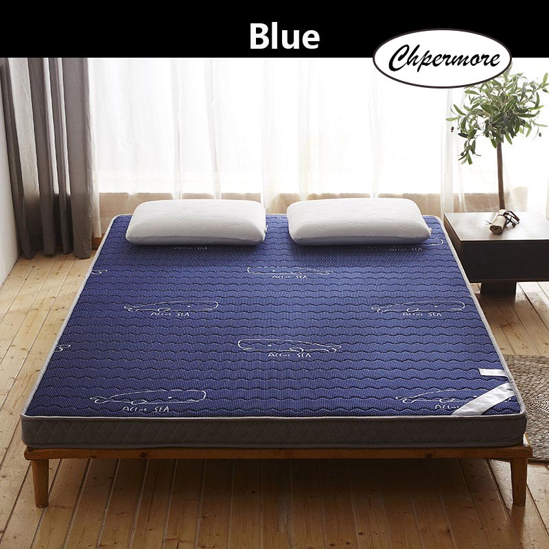 Chpermore Three-dimensional latex Mattress 1.8m thickening Foldable student dormitory Tatami double Mattresses King Queen Size