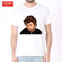 Men Hipster George Michael Choose Life Women Harajuku T shirt Unisex Skateboard Tshirt Clothes Streewear
