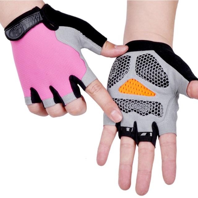 Cycling Gloves Cycling Gloves Gym Gloves Anti-slip Anti-sweat Men Women Half Finger Gloves Breathable Anti-shock Sports Gloves Bike Bicycle Glove <div></div> - FitnessKim