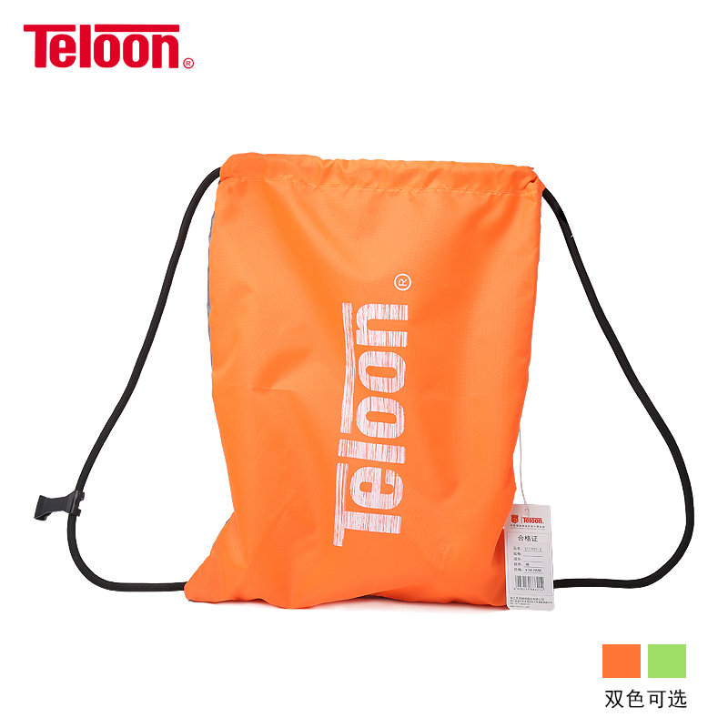 Teloon Tennis Racket Backpack Portability Shoulder Waterproof Sneaker Bag For Tenis Racquets Sweet Inner Pocket Design K011SPB