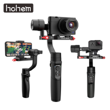 Hohem iSteady Multi Gimbal All in one 3 Axis Handheld Stabilizer for Sony Compact Camera RX100 Series/ Action Camera/ Smartphone