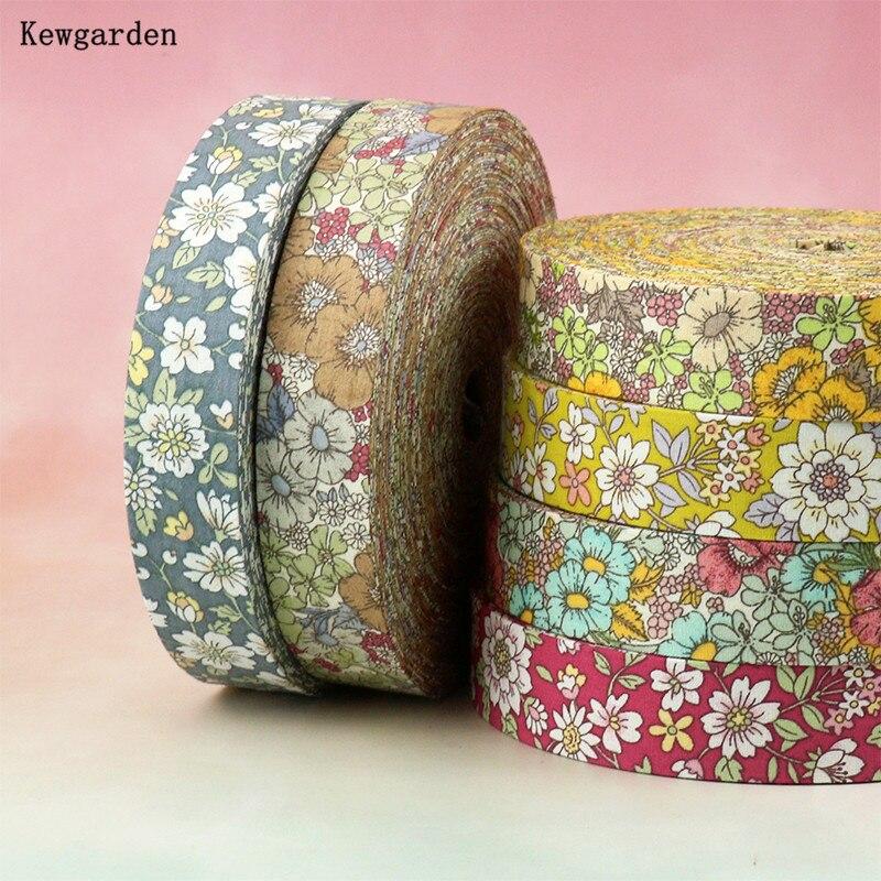 Kewgarden ручная изготовленная лента, DIY Hairbow аксессуары для корсажа 1,5