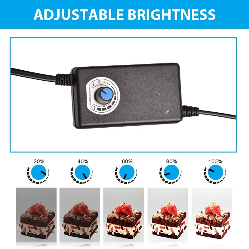 E-shop Photo LED Light Box-Adjustable Brightness