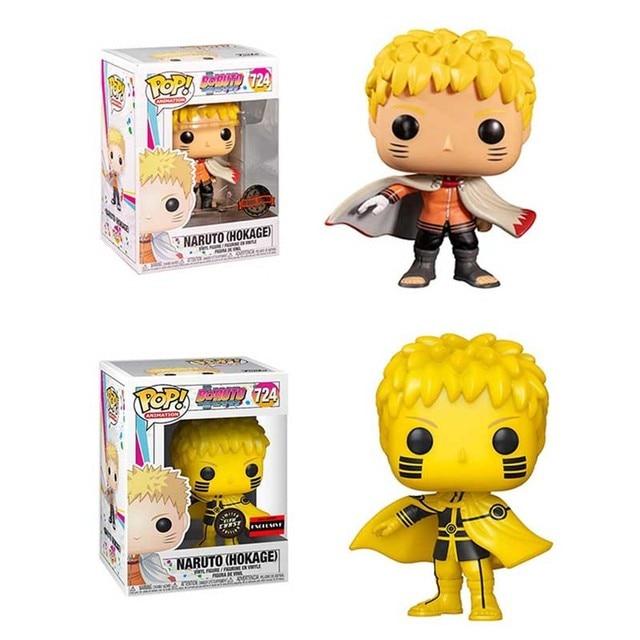 FUNKO POP NARUTO Uzumaki Naruto 724# Vinly Action Figure Toys Ainme Figure Model Dolls for Kids Birthday Gifts 1