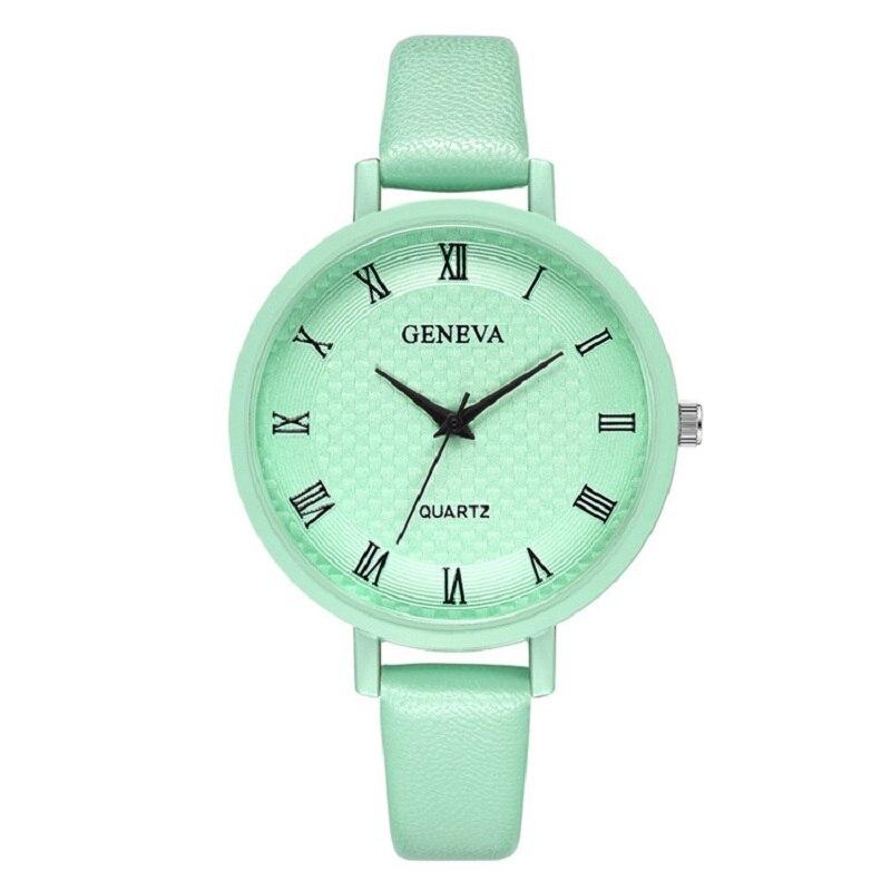 GENEVA 2020 New Luxury Watch Women Casual Female Clock Bracelet Quartz Wristwatch Student Gift Ladies Watch Relogio Feminino