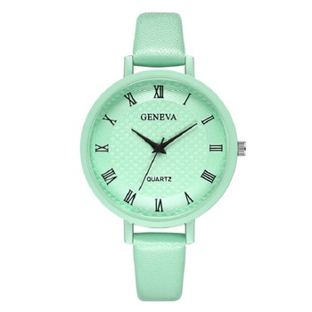 цена GENEVA 2020 New Luxury Watch Women Casual Female Clock Bracelet Quartz Wristwatch Student Gift Ladies Watch relogio feminino онлайн в 2017 году
