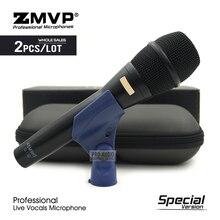 2pcs מהדורה מיוחדת KSM9 מקצועי דינמי סופר Cardioid Wired מיקרופון KSM9HS לחיות שירה קריוקי שלב ביצועים מיקרופון