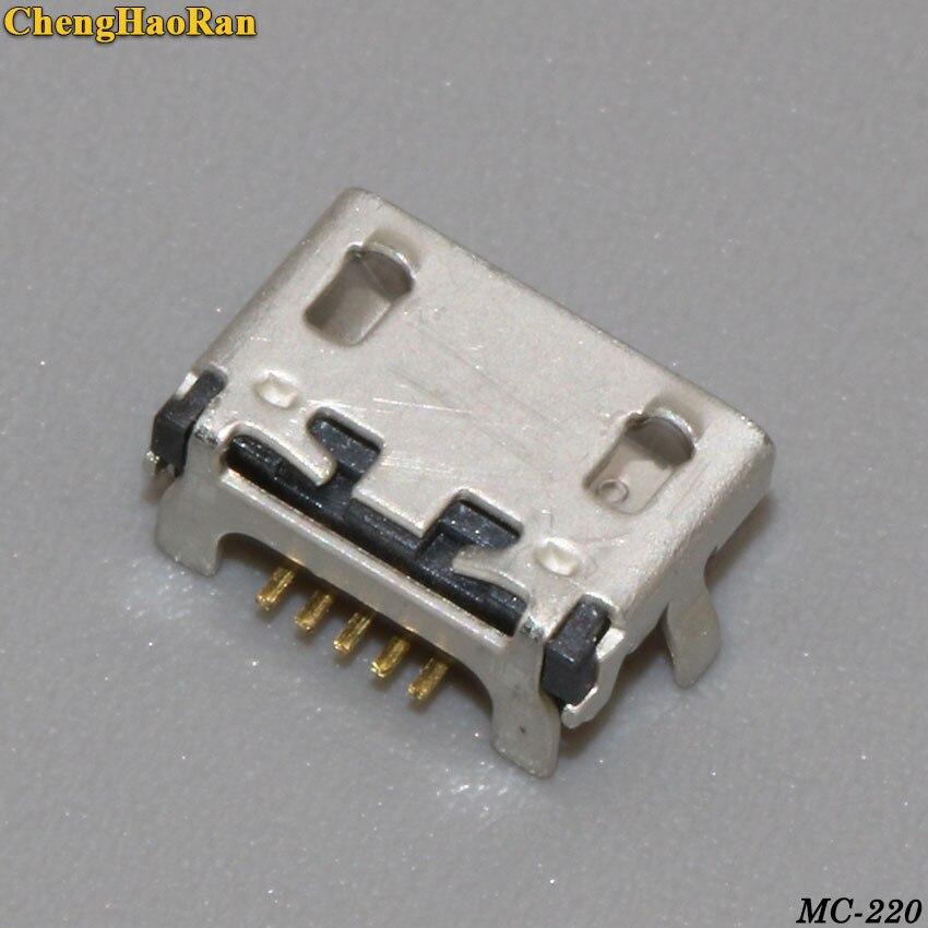 ChengHaoRan 2PCS 5P For Lenovo A788T S930 A656 A370 S390 A388T A766 USB Charging Port Connector Socket Dock Plug Jack