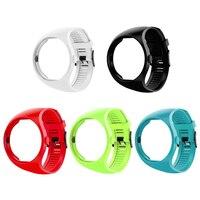 Smart Watches cinturino cinturino in Silicone cinturino sportivo per Polar M200 Smartwatch bracciale di ricambio bianco/nero/rosso/Lime/azzurro