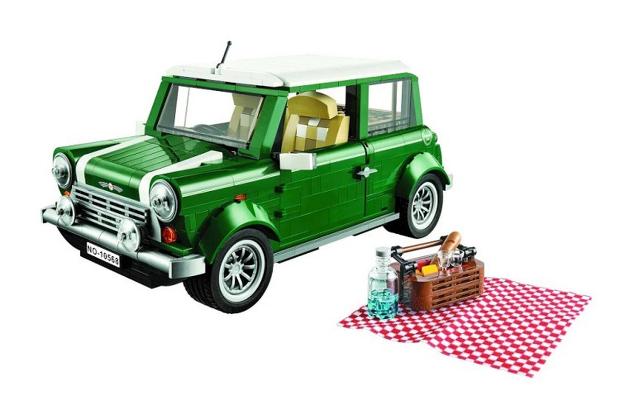 Bela 10568 NEW Model Creator Series MINI Cooper Building Blocks Technic Car Toys For Kids Gifts Compatible With Lepining