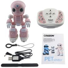 1802 Smart RC Robots Toy Infrared Control Sing Dance Voice Message Record Story Telling Toys Robots for Kids Gifts(China)