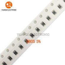 Chip Resistor 100R 100K 0805 SMD 470-Ohm 220R 470R 1K 1R 100pcs 10M 330R 1-10 100-330